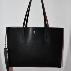 Kate Spade Molly Large Tote & Zipper Pouch in Blac